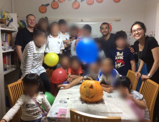 2015.10 Halloween – 講師と一緒にJack-O'Lantern作り